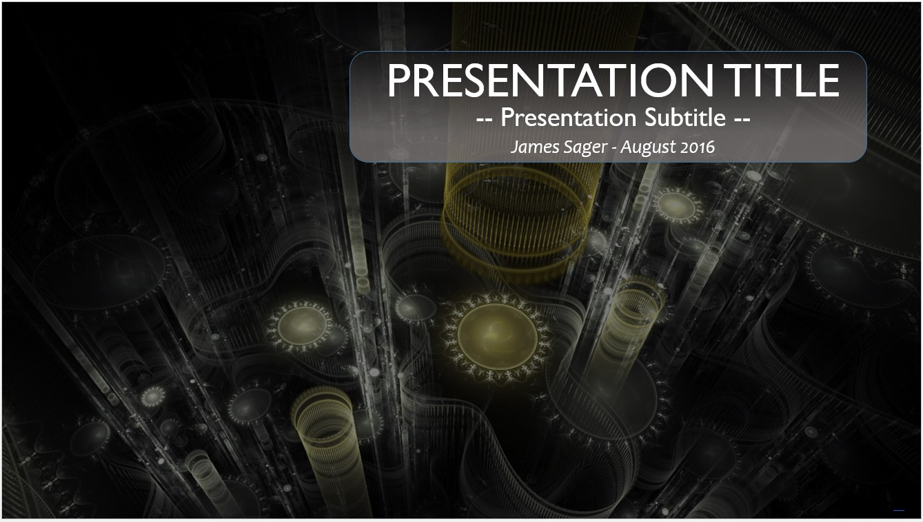 Free 3d mechanical powerpoint template 10409 sagefox powerpoint by james sager toneelgroepblik Image collections