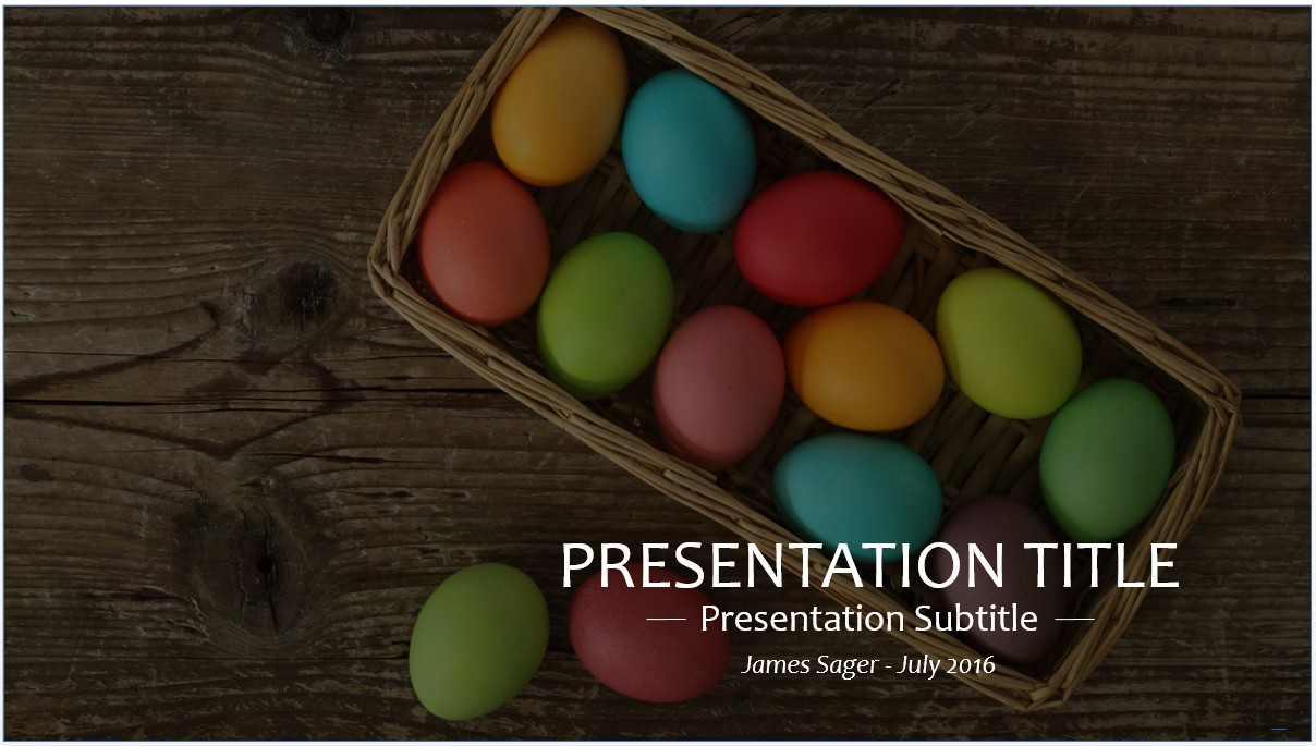 Free easter powerpoint template 8698 sagefox powerpoint templates by james sager toneelgroepblik Choice Image