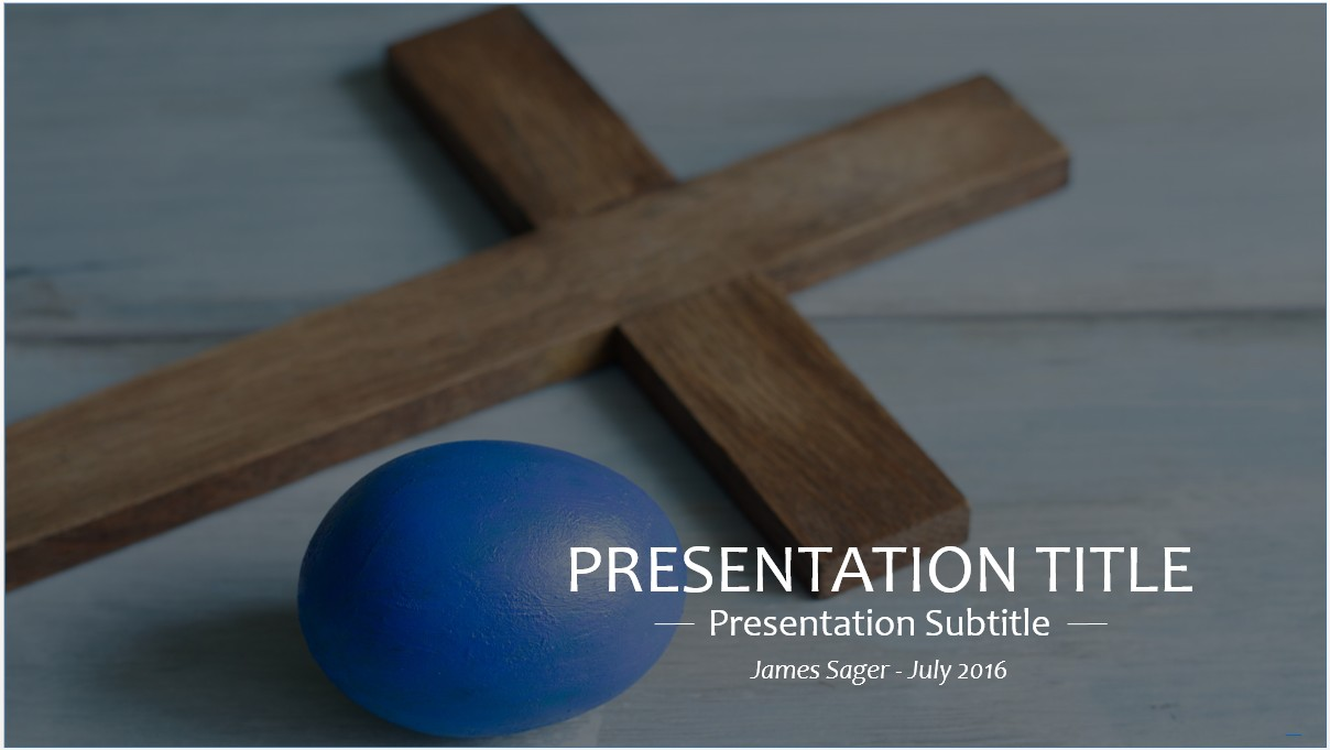 Free easter sunday powerpoint template 8693 sagefox powerpoint by james sager toneelgroepblik Choice Image
