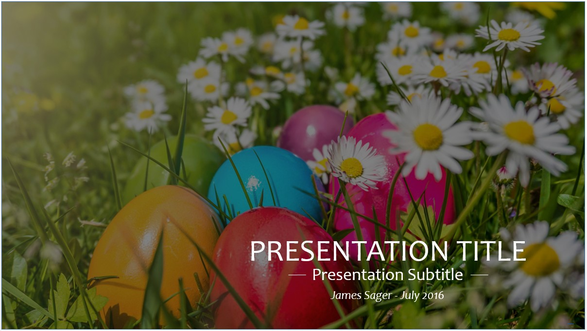 Free easter powerpoint template 8658 sagefox powerpoint templates by james sager toneelgroepblik Choice Image