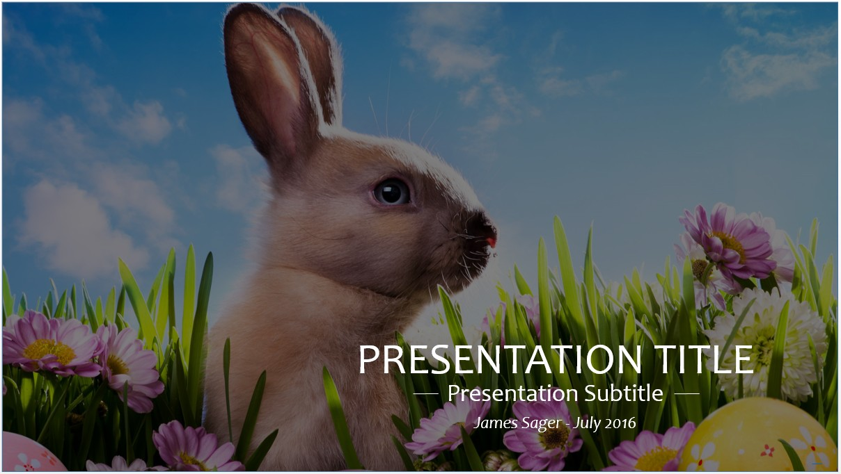 Free easter powerpoint template 8668 sagefox powerpoint templates by james sager toneelgroepblik Choice Image