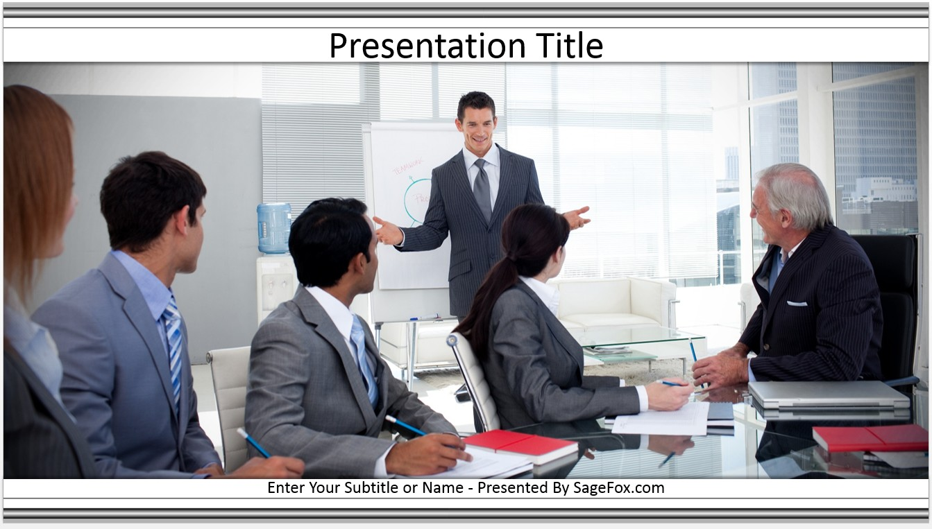 Ppt presentation business meeting