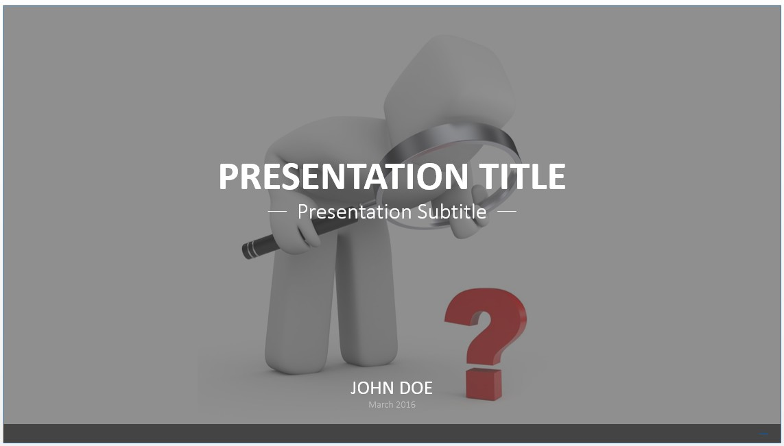 Free study time powerpoint template 5885 sagefox powerpoint study questions powerpoint template toneelgroepblik Images