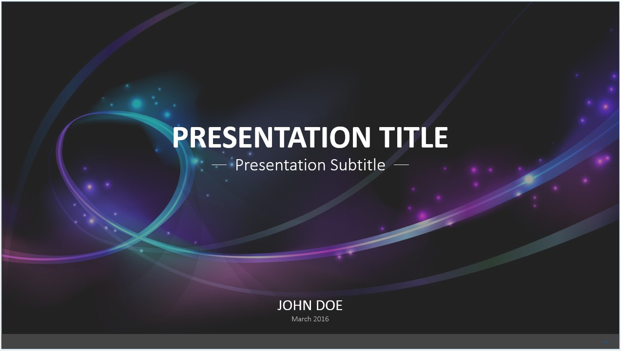 Free abstract waves powerpoint template 7295 sagefox powerpoint by james sager toneelgroepblik Image collections