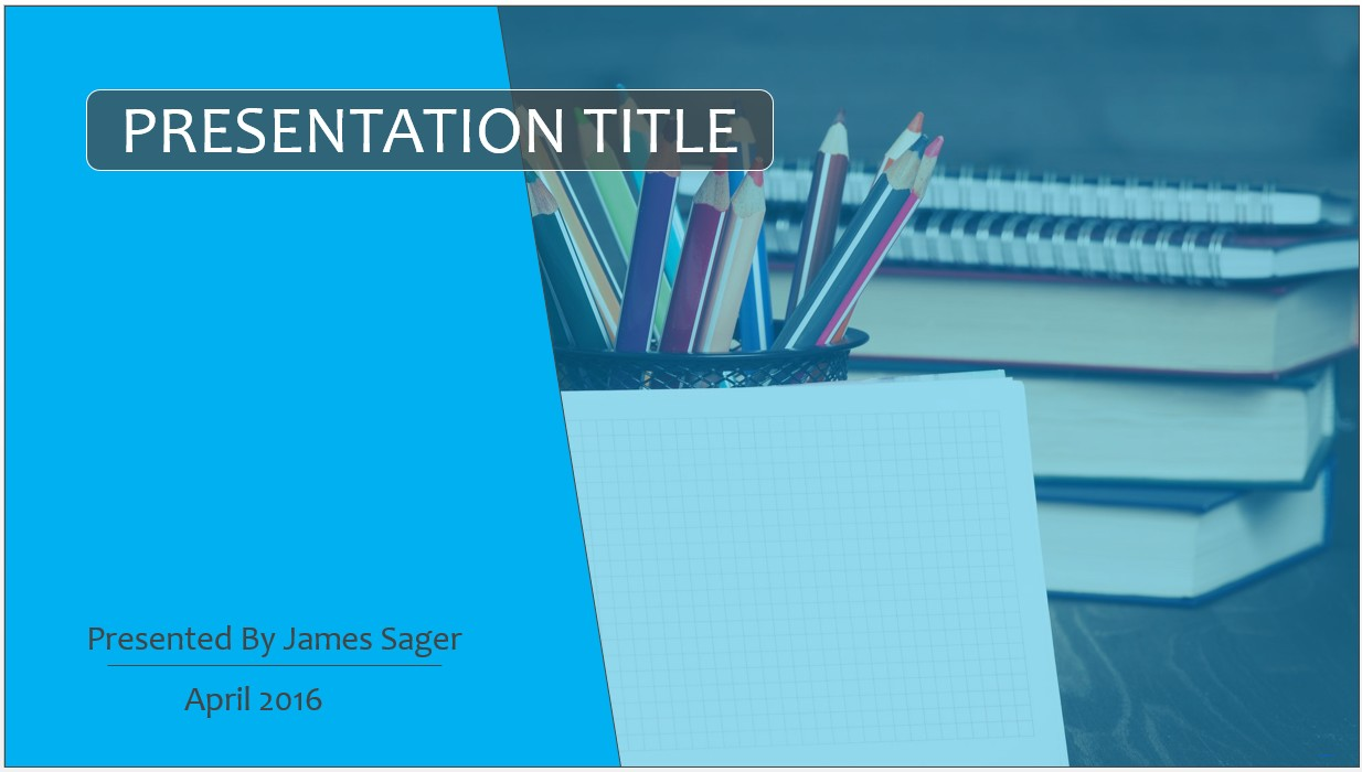 Free education powerpoint template 9406 sagefox powerpoint templates for Power point template free education