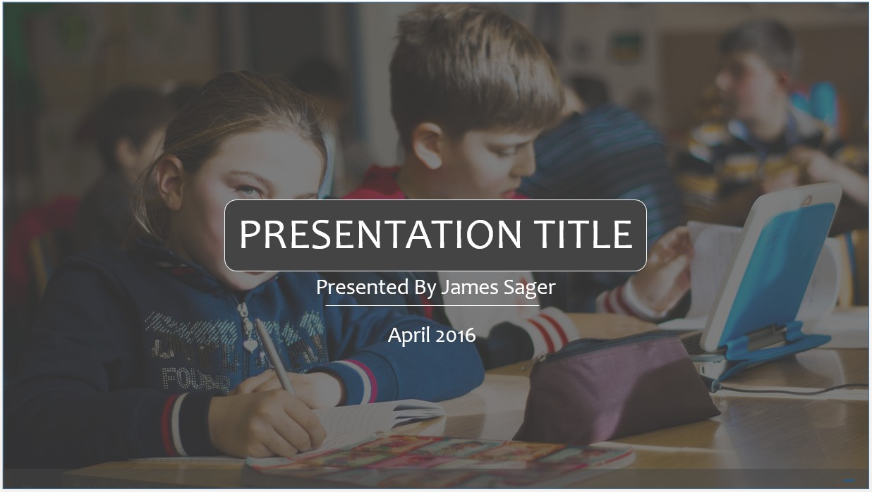 Free kids education powerpoint template 9441 sagefox powerpoint by james sager toneelgroepblik Image collections