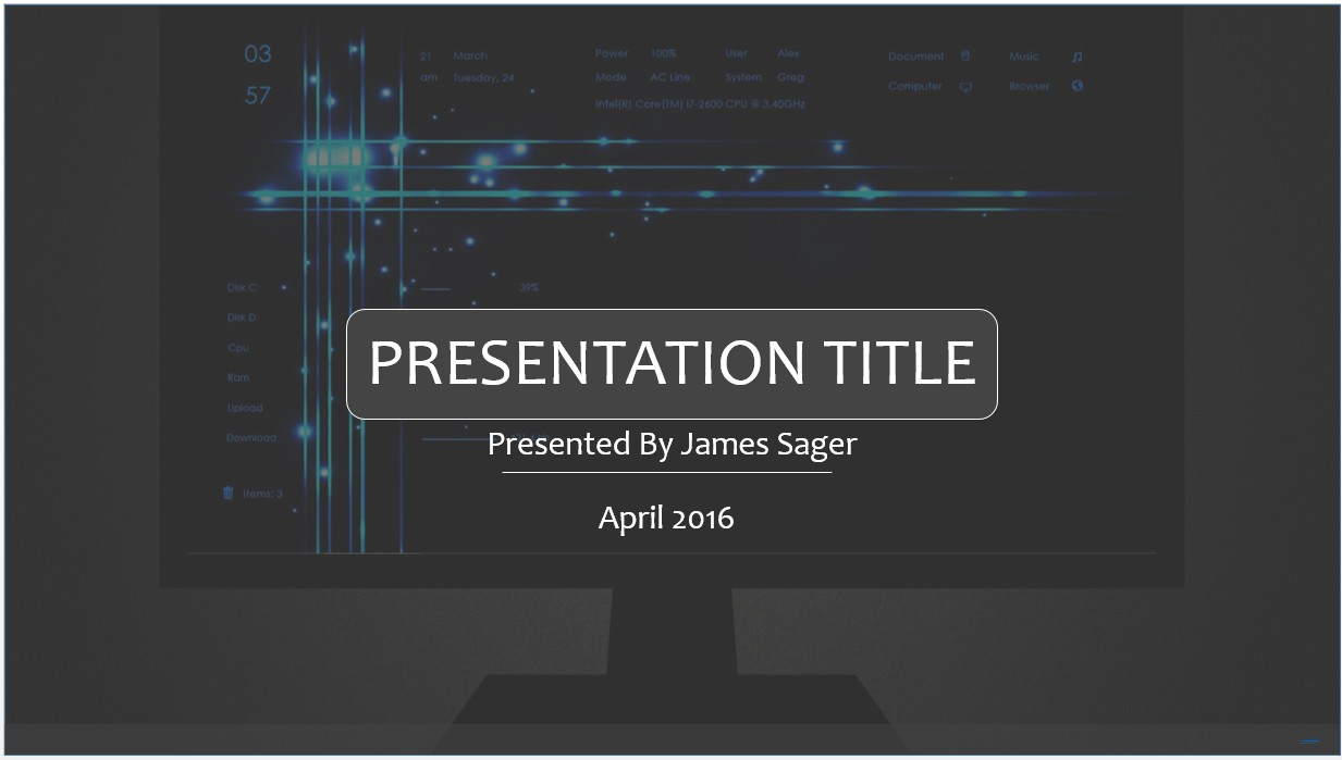Free technology powerpoint template 8461 sagefox powerpoint please share this free powerpoint template toneelgroepblik