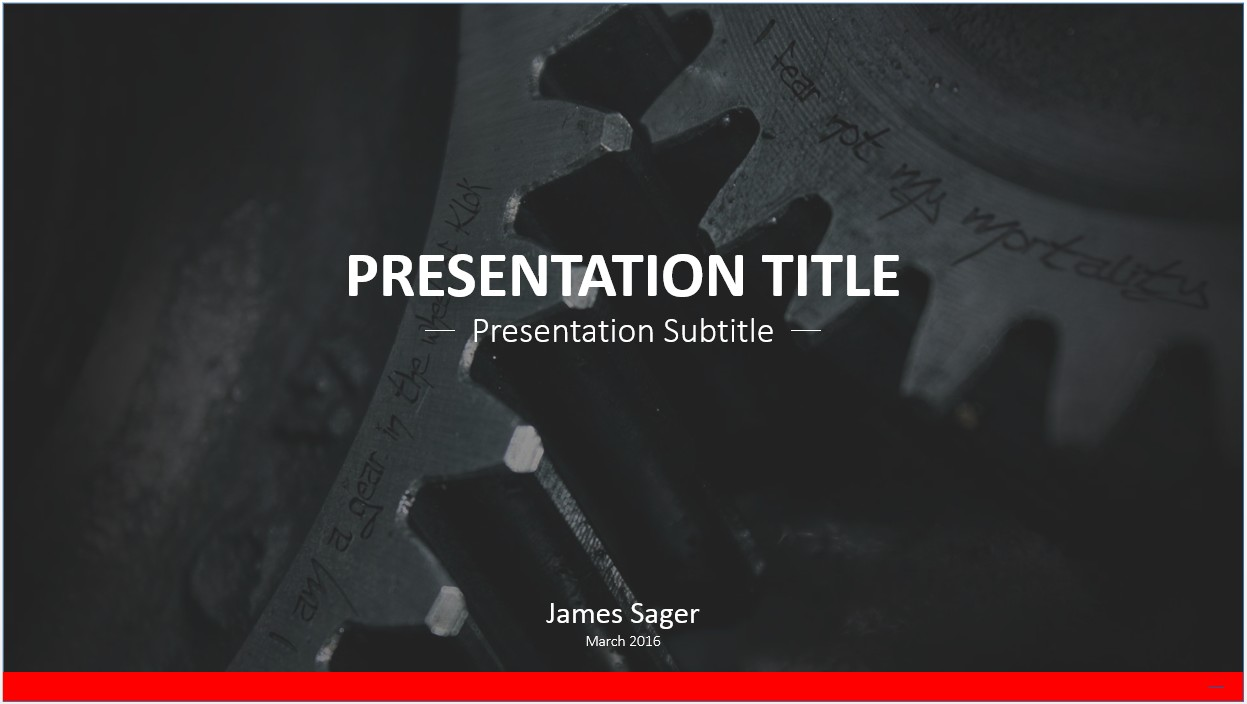 Free gears powerpoint template 7401 sagefox powerpoint templates by james sager toneelgroepblik Choice Image