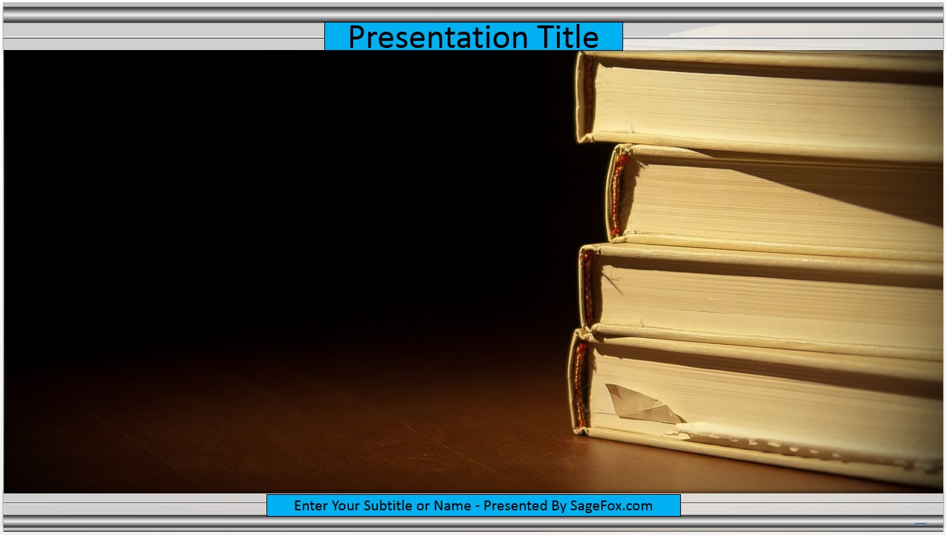 Free books powerpoint template 7060 sagefox powerpoint templates please share this free powerpoint template toneelgroepblik Image collections