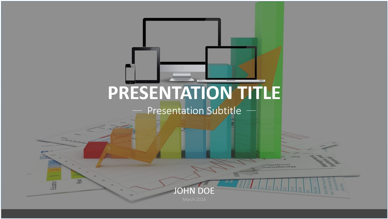 Free business graph powerpoint template 7501 sagefox free by james sager toneelgroepblik Images