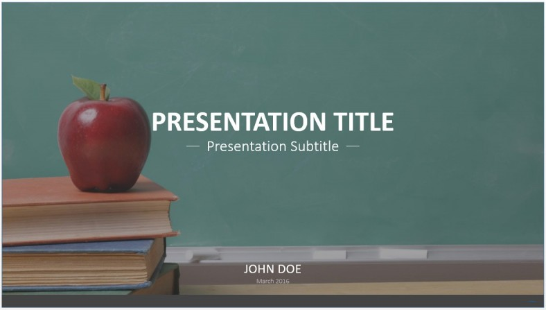 Free education powerpoint template 7576 sagefox powerpoint templates education powerpoint template toneelgroepblik Image collections