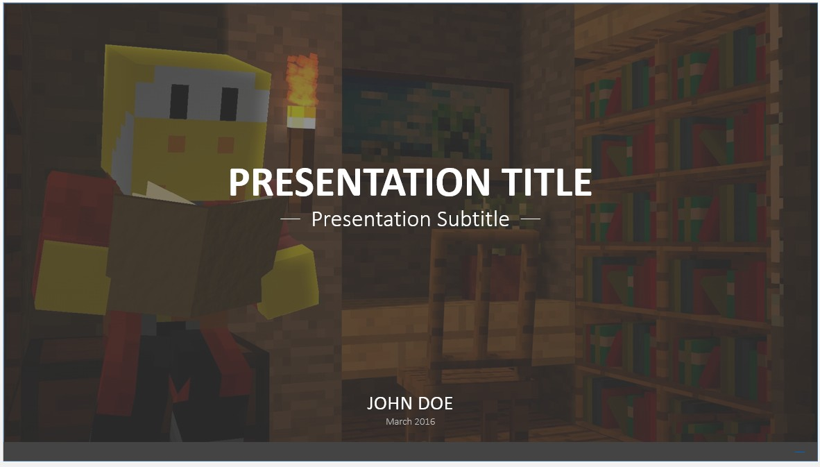 Free video game powerpoint template 7626 sagefox free powerpoint by james sager toneelgroepblik