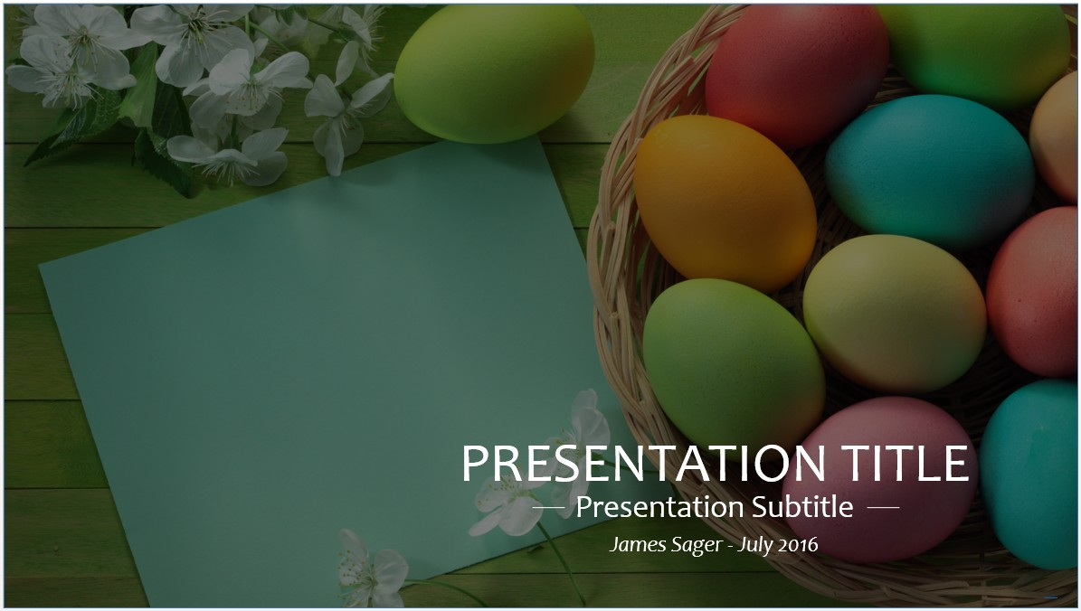 Free easter powerpoint template 8296 sagefox powerpoint templates easter powerpoint template toneelgroepblik Choice Image