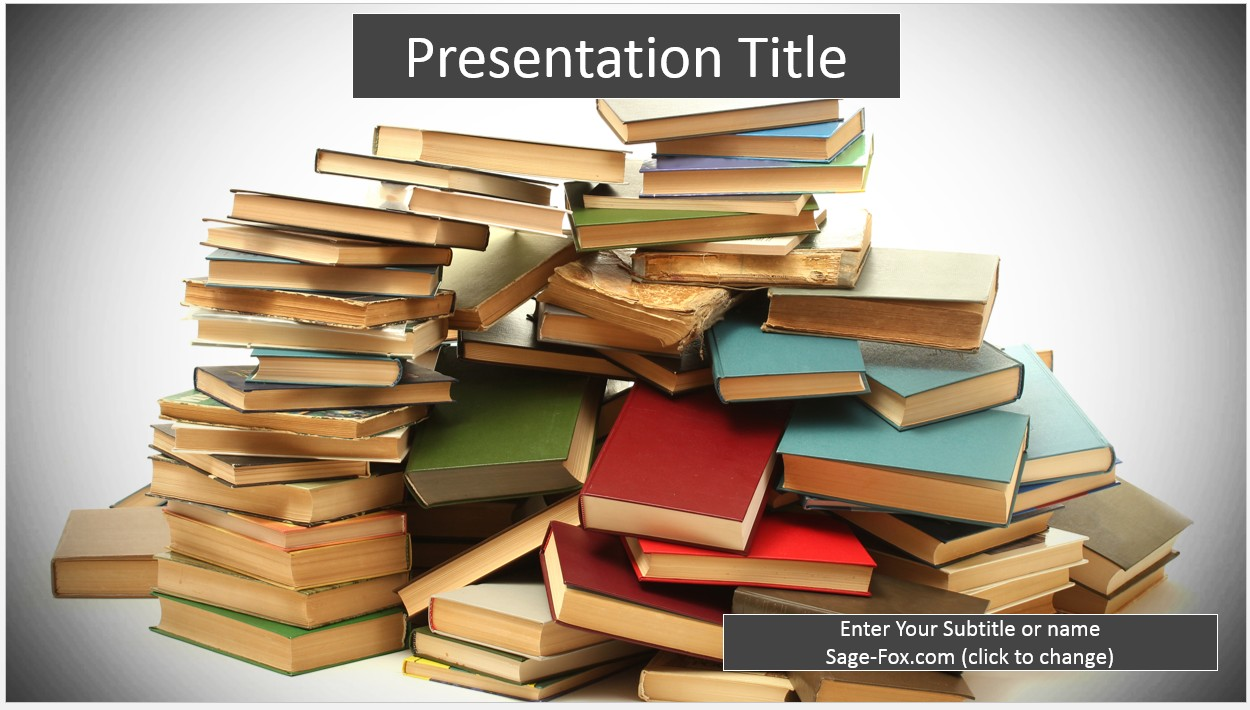 Free books powerpoint 8227 sagefox powerpoint templates by james sager toneelgroepblik Image collections