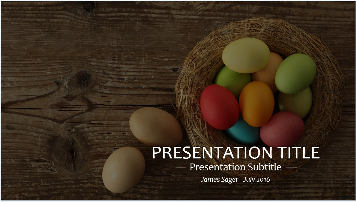 Free easter powerpoint template 8237 sagefox powerpoint templates by james sager toneelgroepblik Choice Image