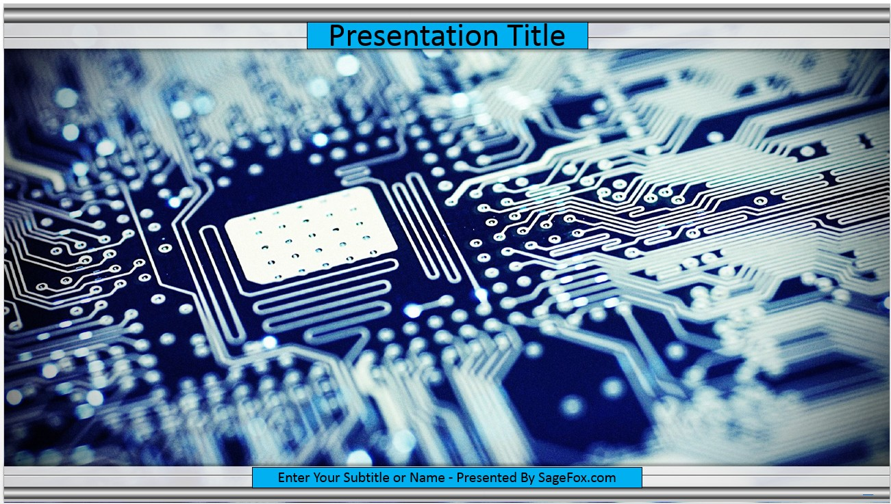 Free technology powerpoint template 9612 sagefox free powerpoint by james sager toneelgroepblik Image collections