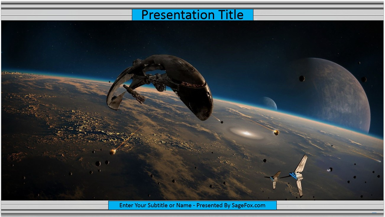 Free scifi powerpoint template 9642 sagefox powerpoint templates by james sager toneelgroepblik Image collections