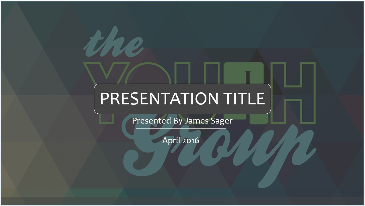 Free youth group powerpoint template 7894 sagefox powerpoint by james sager toneelgroepblik Images