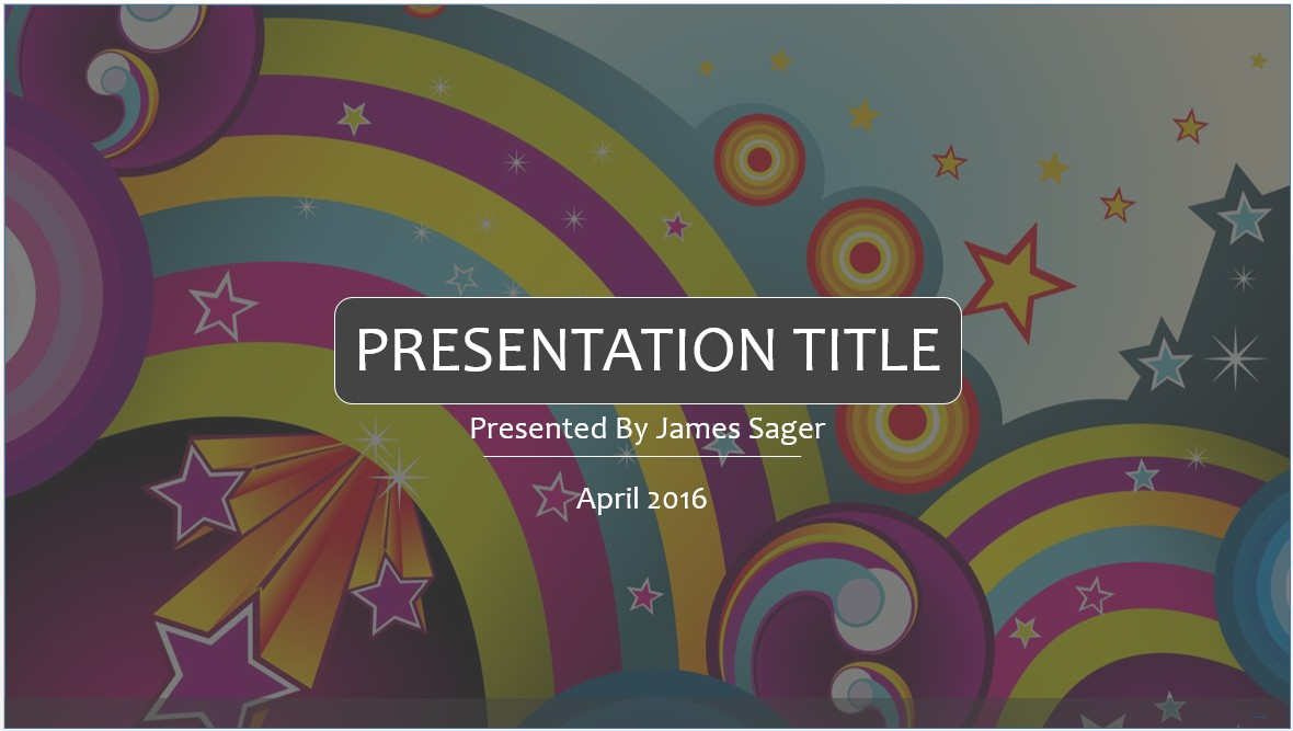 Free colorful fun powerpoint template 7929 sagefox powerpoint please share this free powerpoint template alramifo Images