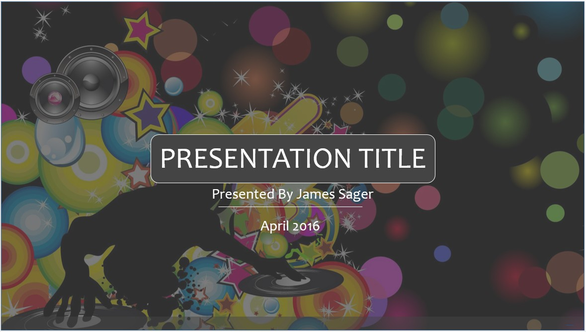 Free music powerpoint template 7934 sagefox free powerpoint by james sager toneelgroepblik Images
