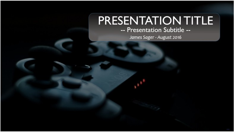 Free game controller powerpoint template 9822 sagefox powerpoint game controller powerpoint template toneelgroepblik Image collections
