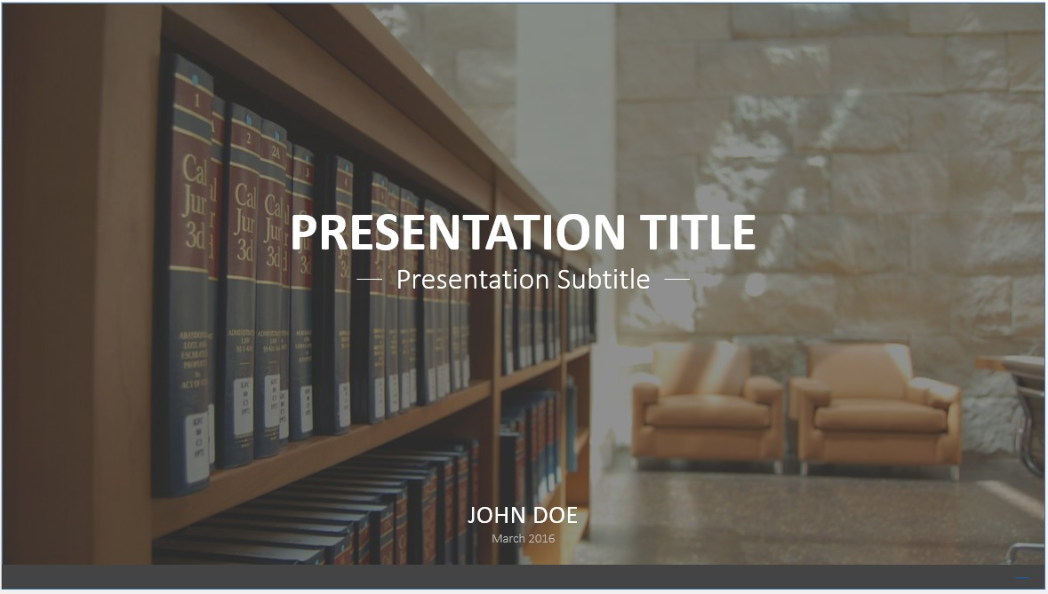 Free library powerpoint template 7743 sagefox powerpoint templates by james sager toneelgroepblik Choice Image