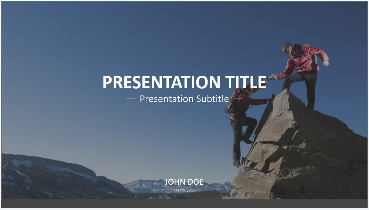 Free reaching the top powerpoint template 7662 sagefox please share this free powerpoint template toneelgroepblik Gallery