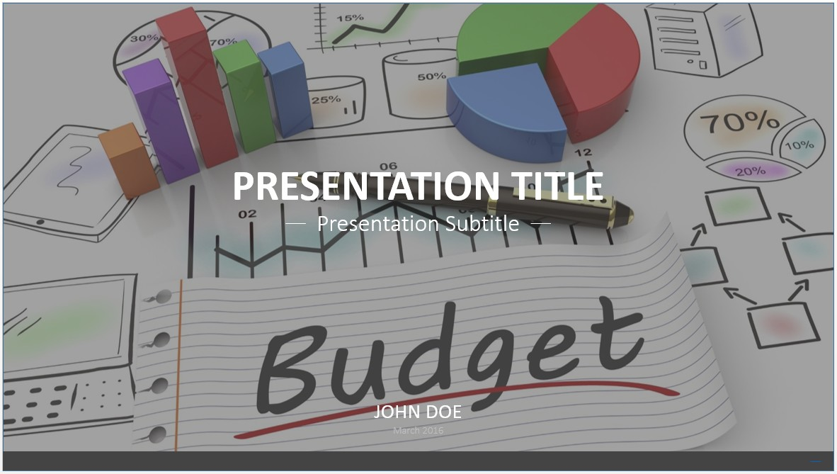 budget ppt template - Roho.4senses.co