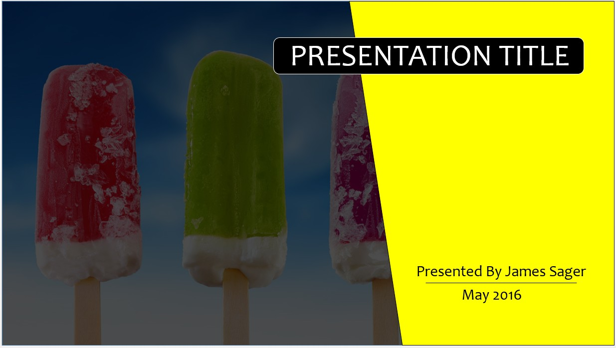 Free ice cream powerpoint template 9191 sagefox powerpoint templates by james sager toneelgroepblik Image collections