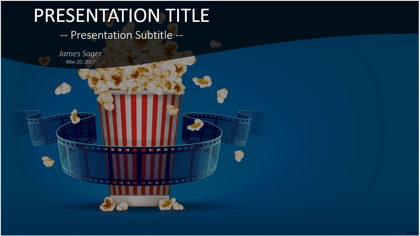 Free movie powerpoint templates vatozozdevelopment free movie powerpoint templates toneelgroepblik Gallery