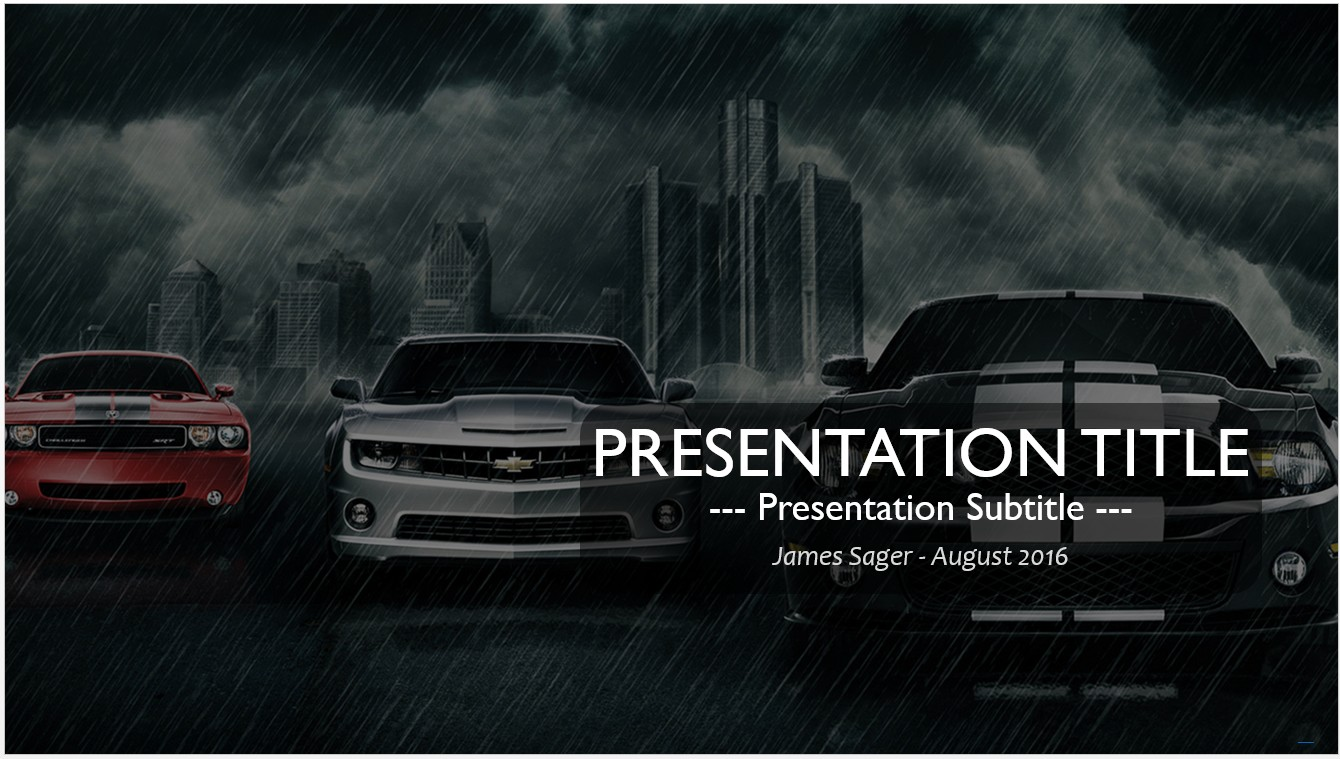 Free muscle cars powerpoint 18896 sagefox powerpoint templates by james sager toneelgroepblik Image collections