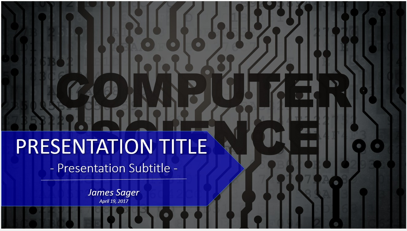 Free computer science powerpoint 20156 sagefox powerpoint templates computer science powerpoint toneelgroepblik Gallery
