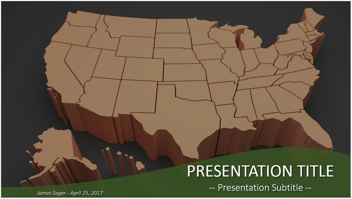usa map powerpoint
