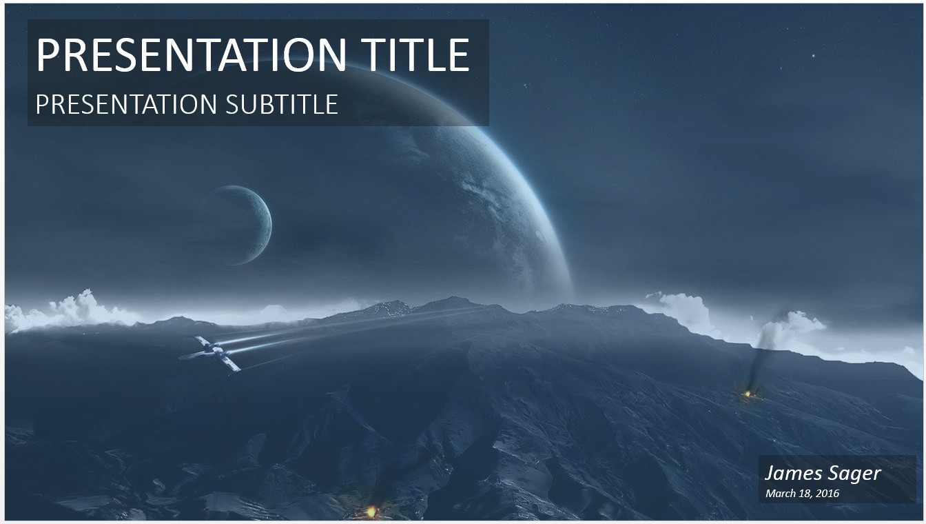 Free scifi powerpoint 20720 sagefox powerpoint templates by james sager toneelgroepblik Image collections