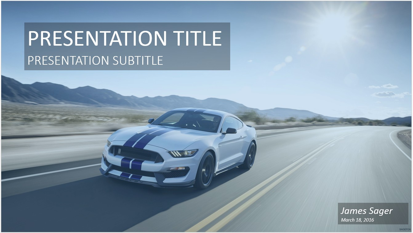 ford ppt template