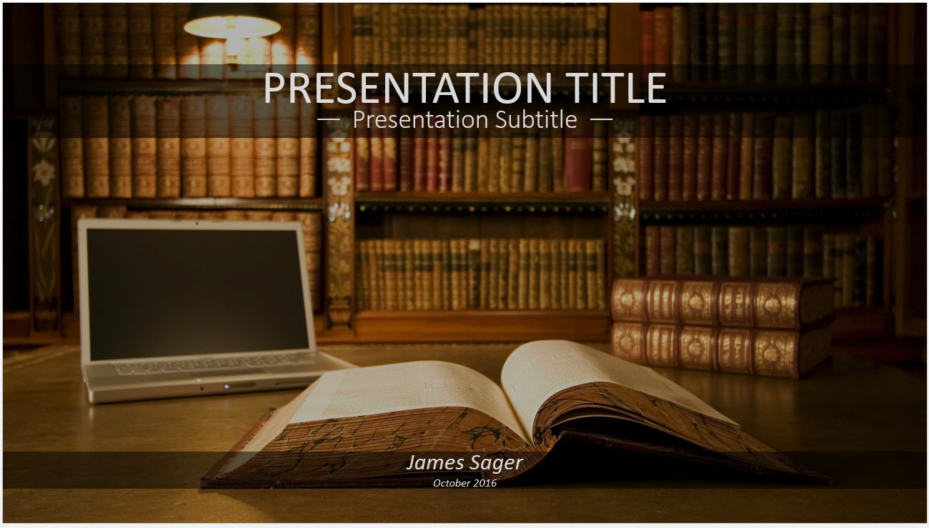 Free books in library powerpoint 12528 sagefox powerpoint templates by james sager toneelgroepblik Images