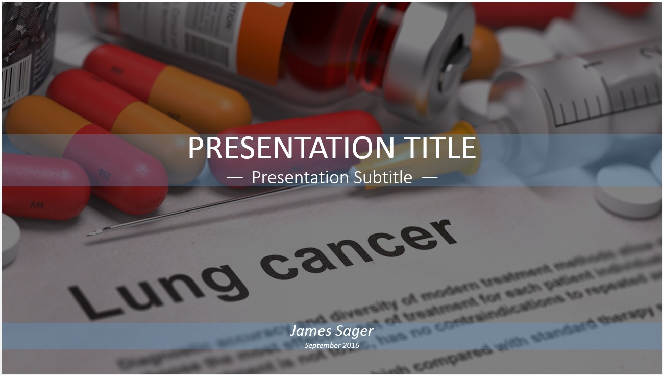 Free lung cancer powerpoint 12917 sagefox free powerpoint templates by james sager toneelgroepblik Gallery