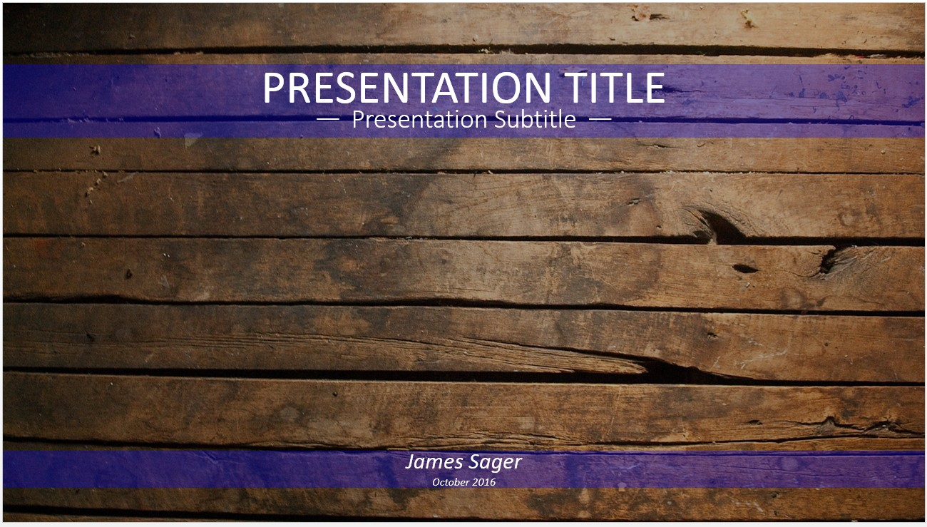 Free wood powerpoint 12064 sagefox powerpoint templates by james sager toneelgroepblik Image collections