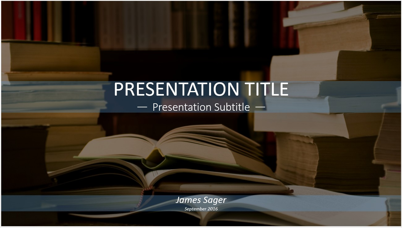 Free books in library powerpoint template 13012 sagefox by james sager toneelgroepblik Image collections