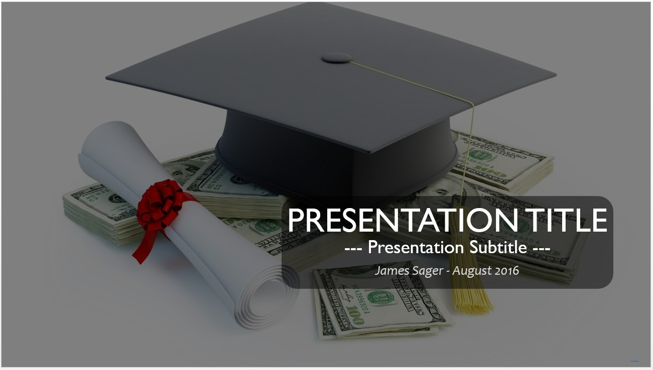 Free graduation powerpoint template 13022 sagefox powerpoint by james sager toneelgroepblik