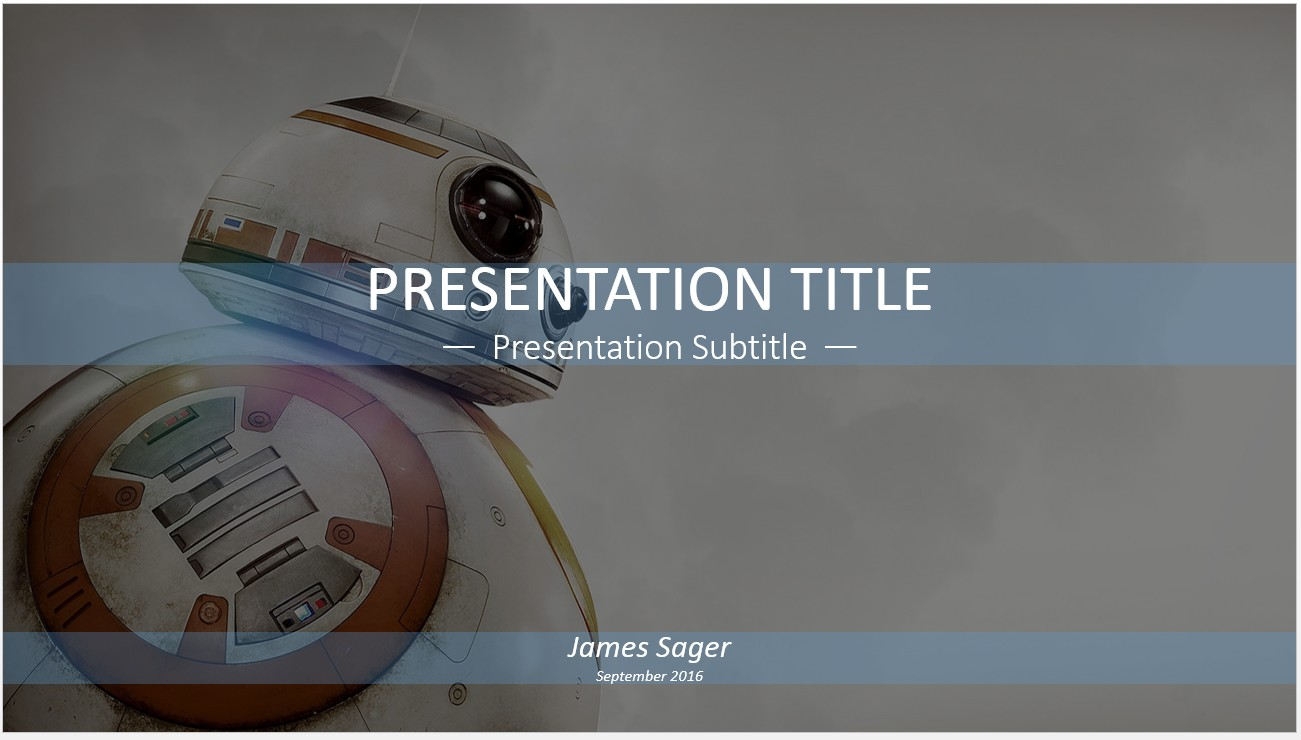 Free robot powerpoint 12149 sagefox powerpoint templates by james sager toneelgroepblik Images