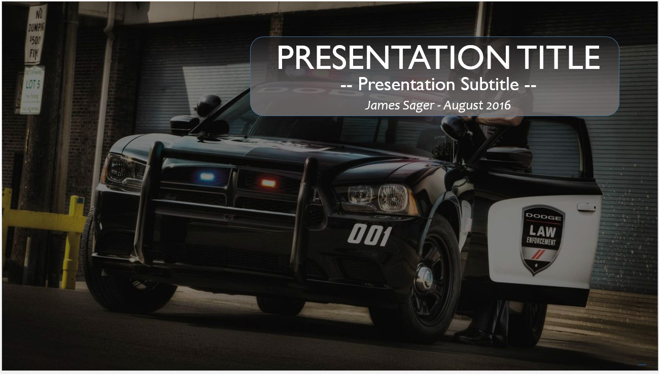 Free police powerpoint 12154 sagefox powerpoint templates by james sager toneelgroepblik Image collections