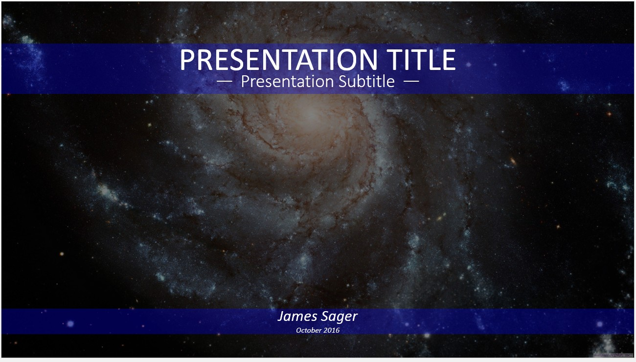 Galaxy powerpoint template idealstalist galaxy powerpoint template toneelgroepblik Images