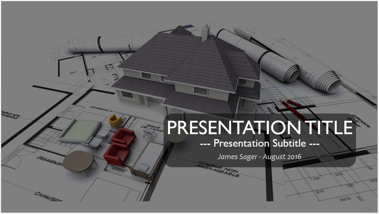Free architectural designs powerpoint 12417 sagefox powerpoint by james sager toneelgroepblik