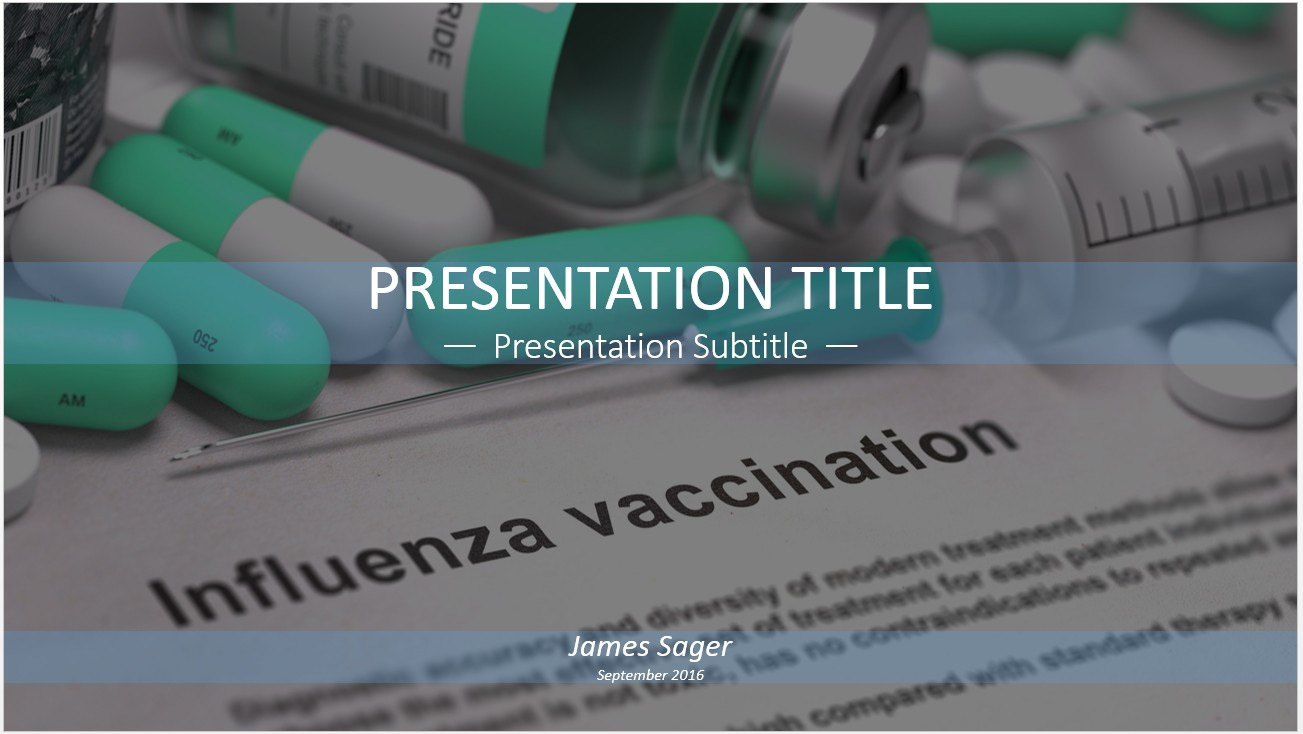 Free influenza vaccination powerpoint 12442 sagefox powerpoint by james sager toneelgroepblik Gallery