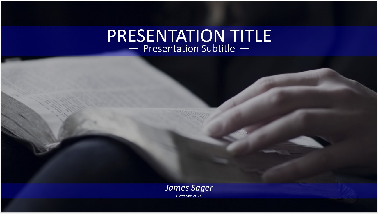 Free reading the bible powerpoint 12361 sagefox powerpoint templates by james sager toneelgroepblik Images