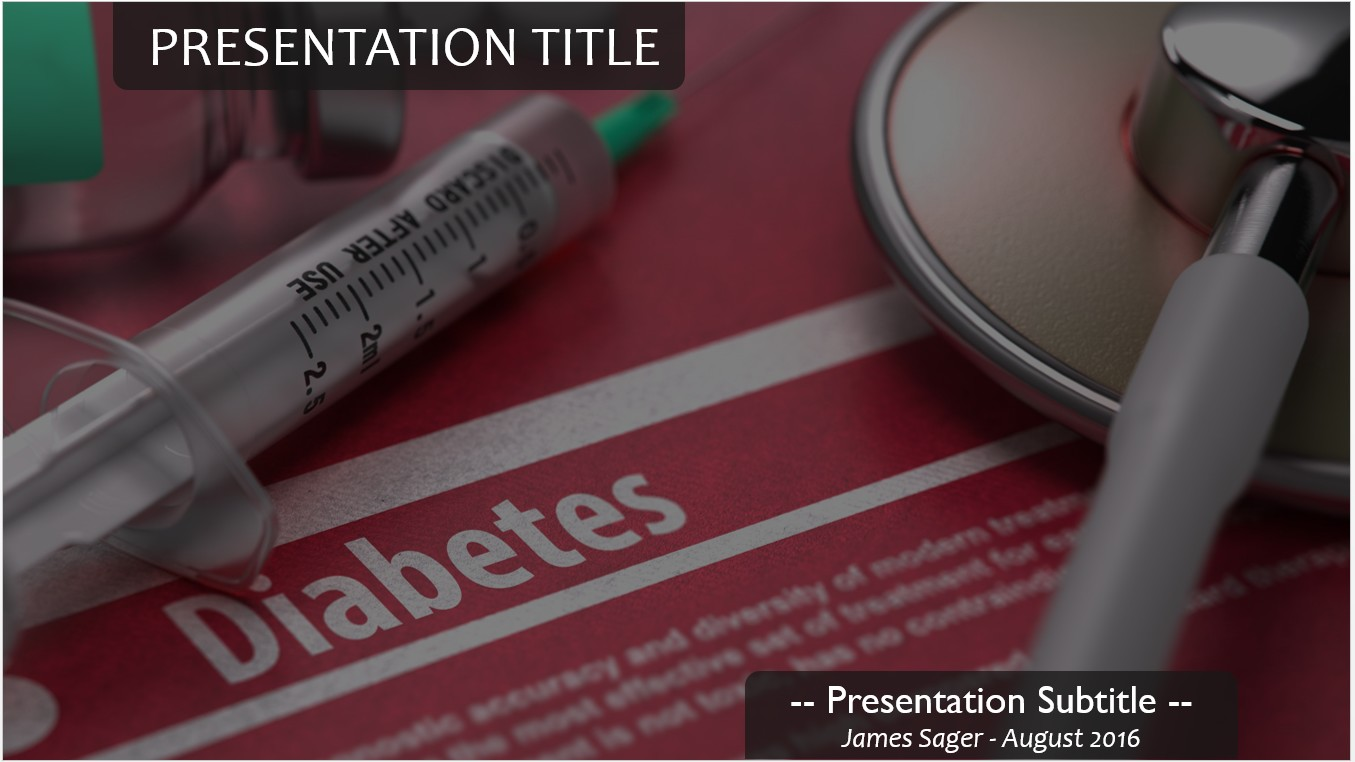 Free diabetes powerpoint 14319 sagefox powerpoint templates by james sager toneelgroepblik Image collections