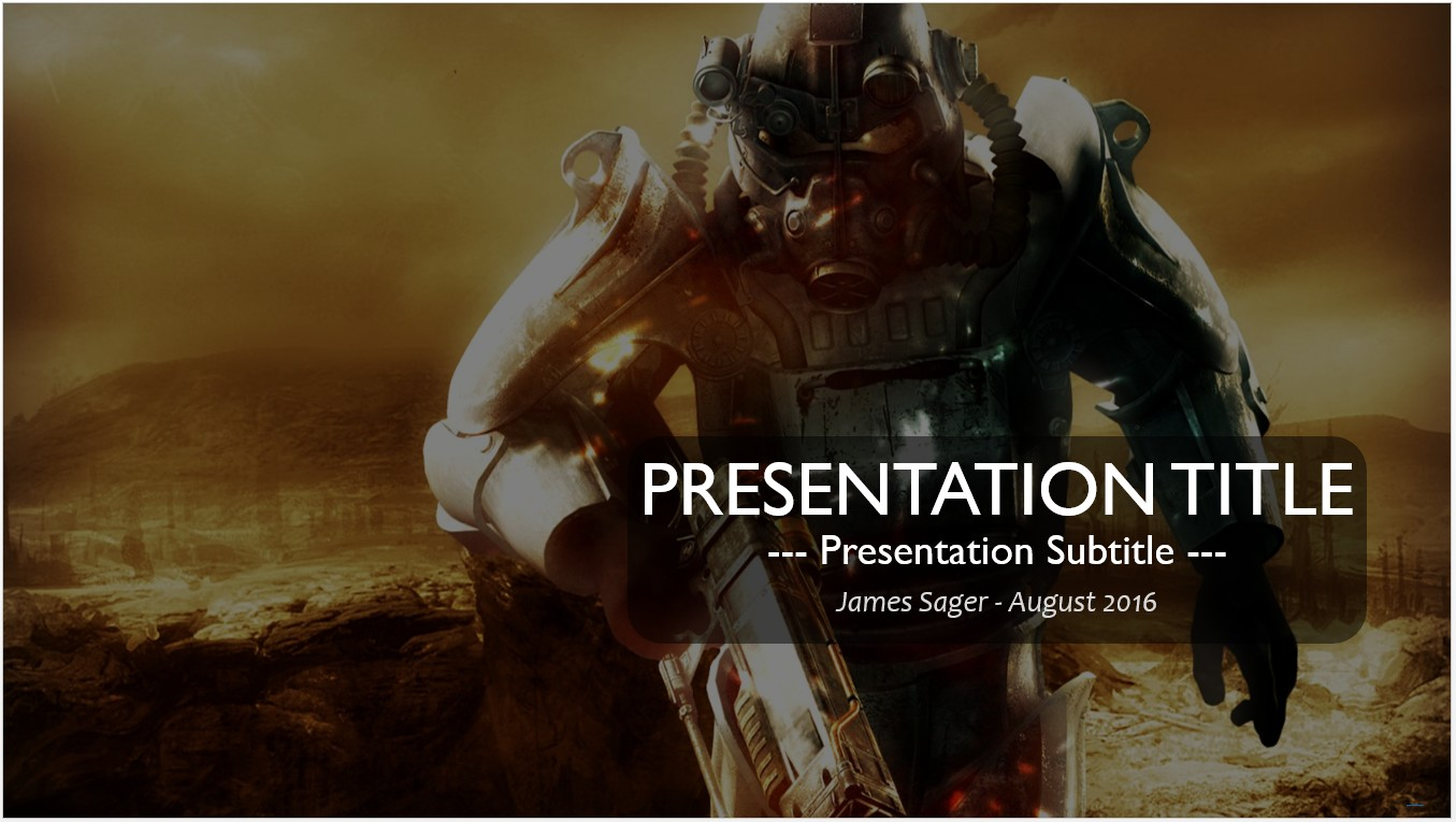 Free video game powerpoint 14419 sagefox free powerpoint templates by james sager toneelgroepblik Images
