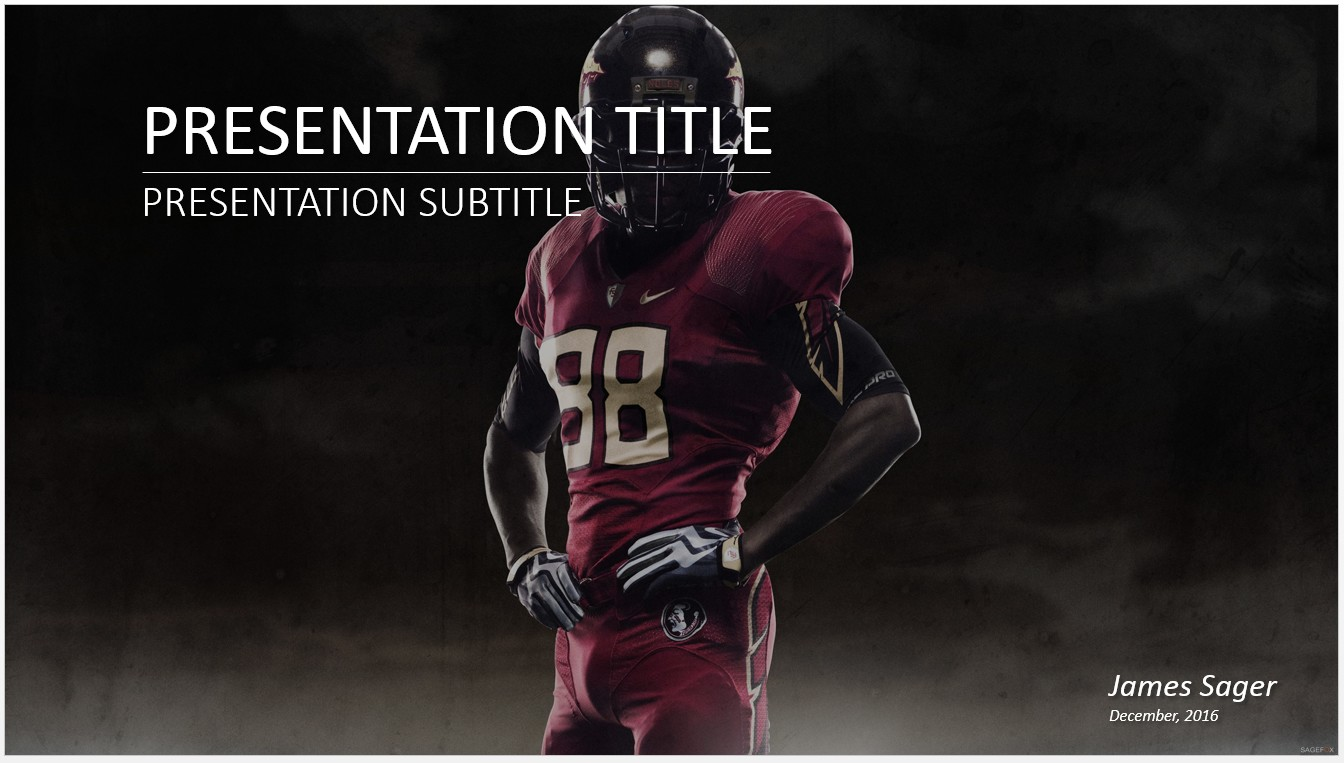 Free football powerpoint 16439 sagefox powerpoint templates by james sager toneelgroepblik Image collections