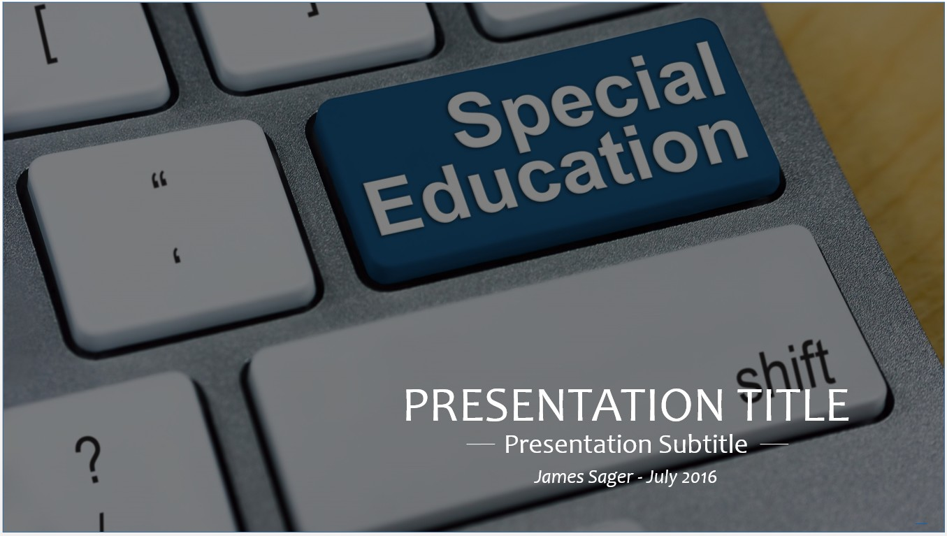 Free special education powerpoint 15523 sagefox powerpoint templates by james sager toneelgroepblik Image collections